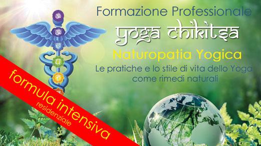 Formazione Intensiva residenziale in Yoga Chikitsa (Yoga Terapia)