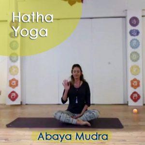 Hatha Yoga: Abaya Mudra