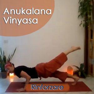 Anukalana Vinyasa: Rinforzare