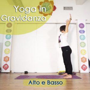 Yoga in Gravidanza: Alto e Basso