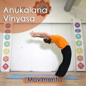 Anukalana Vinyasa: Movimento