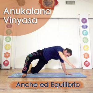 Anukalana Vinyasa: Anche ed Equilibrio