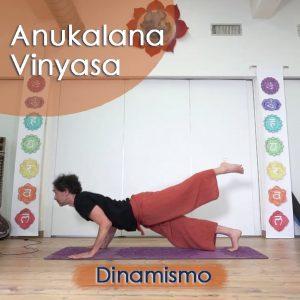 Anukalana Vinyasa: Dinamismo
