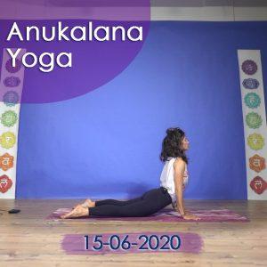 Anukalana Yoga: 15-06-2020