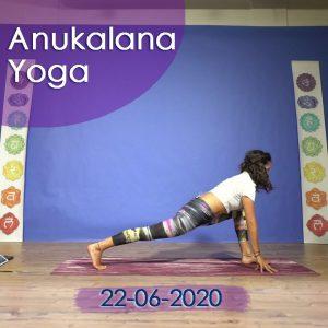 Anukalana Yoga: 22-06-20