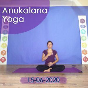 Anuakalana Yoga: 15-06-2020