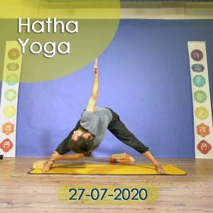 Hatha Yoga: 27-07-2020