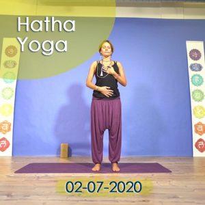 Hatha Yoga: 02-07-2020