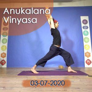 Anukalana Vinyasa: 03-07-2020