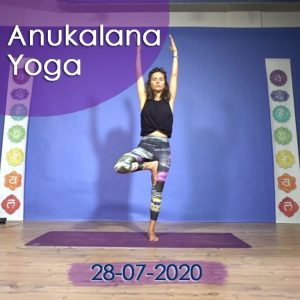 Anukalana Yoga: 28-07-2020