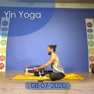 Yin Yoga: 08-07-2020