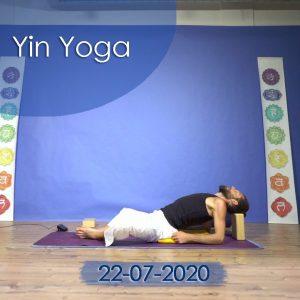 Yin Yoga: 22-07-2020