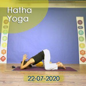 Hatha Yoga: 22-07-2020