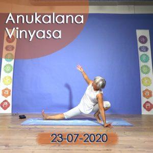 Anukalana Vinyasa: 23-07-2020