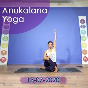 Anukalana Yoga: 13-07-2020