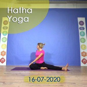 Hatha Yoga: 16-07-2020