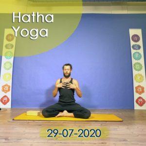 Hatha Yoga: 29-07-2020