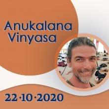 Anukalana Vinyasa: 22-10-2020