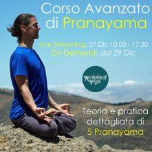 Corso avanzato di Pranayama