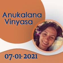 Anukalana Vinyasa: 07-01-2021