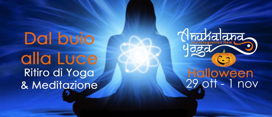 ritiro di yoga e meditazione halloween